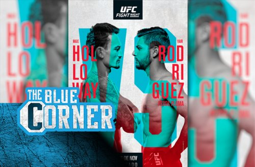 UFC Fight Night 197 official poster: Max Holloway, Yair Rodriguez vie for title contention