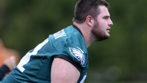 Eagles initial plan for rookie Landon Dickerson won't include a battle with Isaac Seumalo at left guard