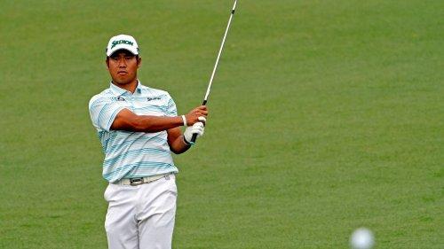 Hideki Matsuyama surges into Masters lead with back-nine barrage at Augusta National