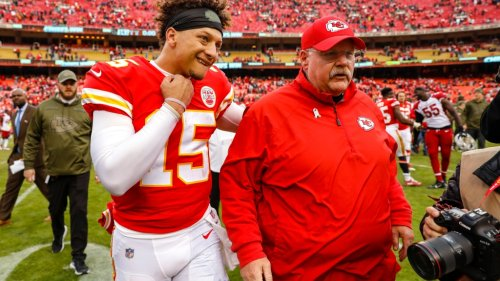 Chiefs' Patrick Mahomes, Andy Reid discuss high expectations in Kansas City