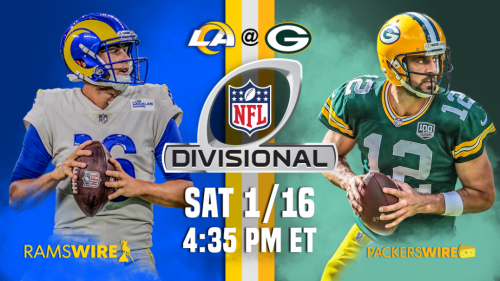 Rams will face Packers in NFC divisional round on Saturday afternoon