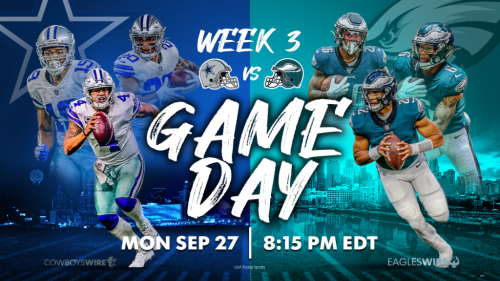 How to watch, wager, live stream, listen to Cowboys-Eagles in Week 3