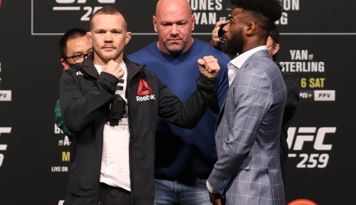 Tension between Petr Yan, Aljamain Sterling on display before UFC 259 title fight