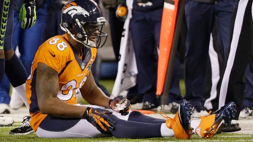 One of the best WRs in Broncos history had a problem with drops