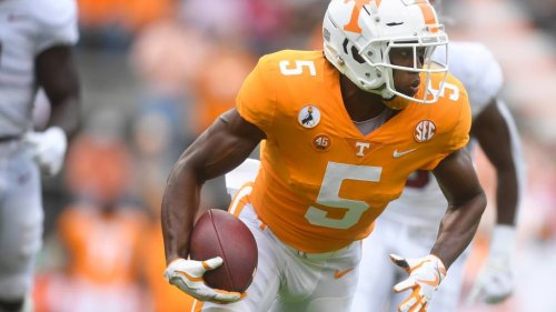 Might Giants target Tennessee WR Josh Palmer in 2021 NFL draft?