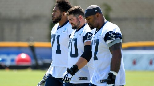 50+ of the best pics from Cowboys first day of 2021 training camp