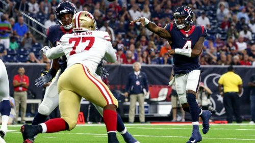 The pathway for the Texans to trade QB Deshaun Watson to the 49ers