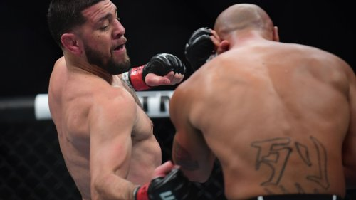 UFC 266 post-event facts: Nick Diaz stopped for first time in nearly 14 years