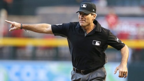 Umpire Angel Hernandez admits he 'basically guessed' on a bizarre call after losing ball in lights