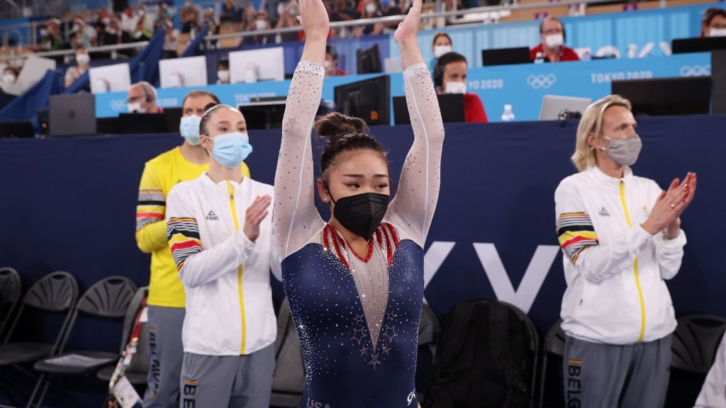 See the amazing moment Suni Lee's family and friends found out she won a gold medal
