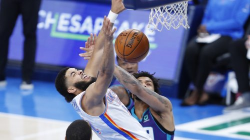 Thunder vs. Hornets: Best pictures from 113-102 OKC loss to Charlotte