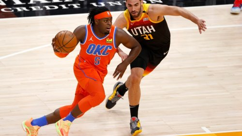 Can you name all 6 Thunder players who have scored 40 points?