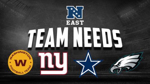 Assessing the draft needs for the NFC East