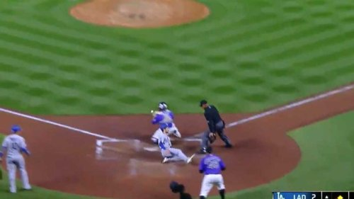 Trea Turner gave us another all-time smooth slide into home plate