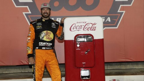 How a vintage Coca-Cola machine finds its way out of the past to Victory Lane at NASCAR's Coke 600