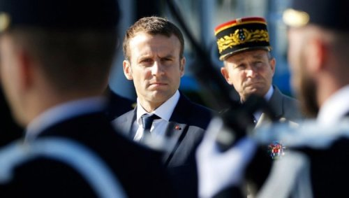The French military has written a new letter warning of civil war