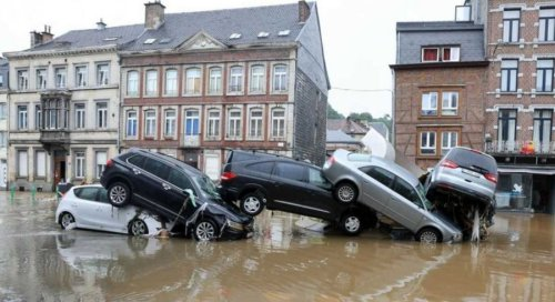 Floods cover Belgium and the Netherlands-more than 20 people were killed (video)