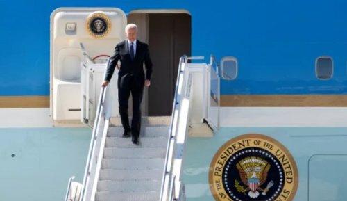 Biden lands in Geneva ahead of meeting with Putin
