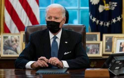 Biden repeals seven Trump executive orders