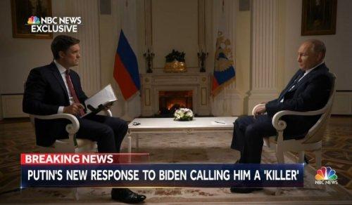 Putin responded to Joe Biden, who called him a murderer | NBC interview