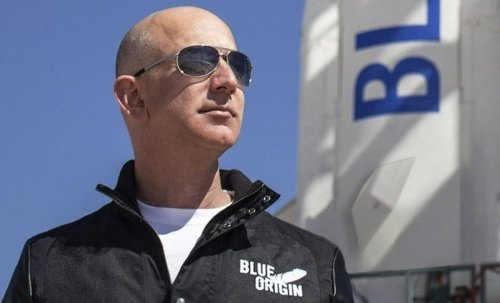 A seat on the flight to space with Bezos sold for $28 million