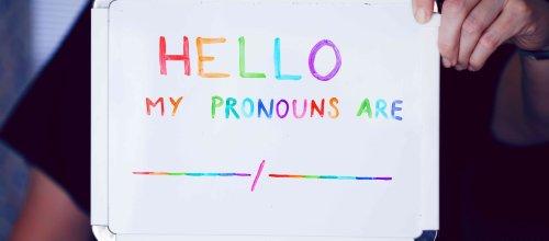 Les « néopronoms » - quand la sémantique s'ouvre à l'expression d'une identité queer plurielle
