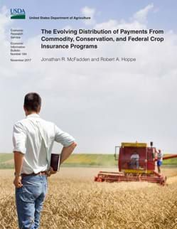 The Evolving Distribution of Payments From Commodity, Conservation, and Federal Crop Insurance Programs