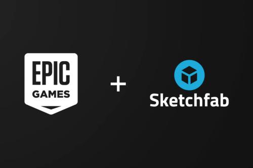 Epic Games s'empare de la solution d'hébergement et de visualisation de contenus 3D Sketchfab