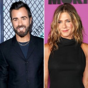 Justin Theroux on Ex Jennifer Aniston: 'I Would Say We've Remained Friends'