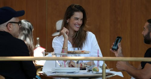 Channel Alessandra Ambrosio's Breezy White Shirt Style for Just $22