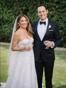 They Do! Glee's Jenna Ushkowitz Marries David Stanley After Meeting on Dating App