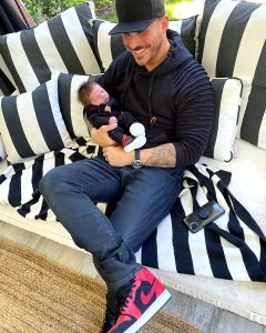 Pump Rules' Jax Taylor Was 'Petrified' to Hold Son Cruz for the 1st Time