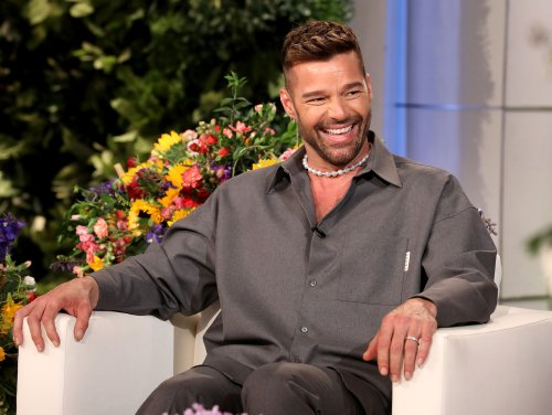 LOL! Ricky Martin's 2-Year-Old Daughter Lucia 'Doesn't Let' Him Sing