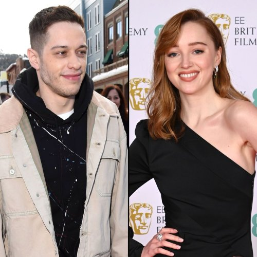 Did Pete Davidson Just Confirm His Romance With Phoebe Dynevor?