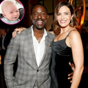 See Mandy Moore's Son Gus Meeting Her 'This Is Us' Costar Sterling K. Brown