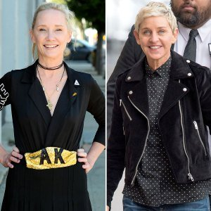 Anne Heche Warps Into Ex Ellen DeGeneres on TikTok — And Isn't Pleased