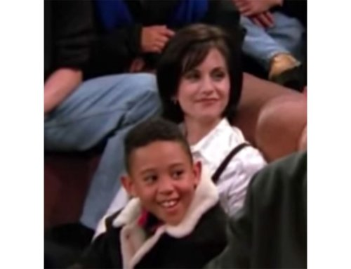 Tahj Mowry Had the 'Biggest Crush' on Courteney Cox During 'Friends' Cameo