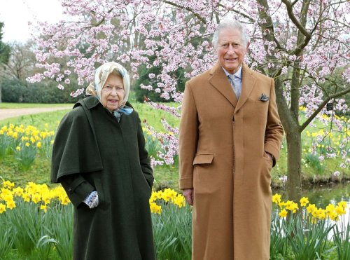 Prince Charles Visits Queen Elizabeth II After Prince Philip's Death
