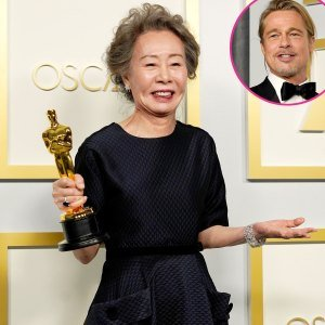 Yuh-Jung Youn Had the Best Response When Asked What Brad Pitt Smells Like