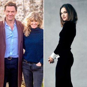 Dominic West's Wife Catherine: We're 'Totally Devoted' After Lily James Drama