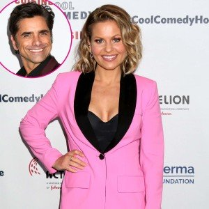 Candace Cameron Bure Jokes John Stamos Shared His 'Anti-Aging Potion'