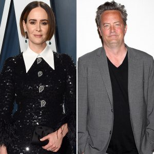 Harsh! Sarah Paulson Was Rejected by Matthew Perry at a 'Makeout' Party