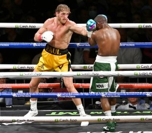 LOL! Logan Paul Reacts to Floyd Mayweather Fight Memes After Exhibition