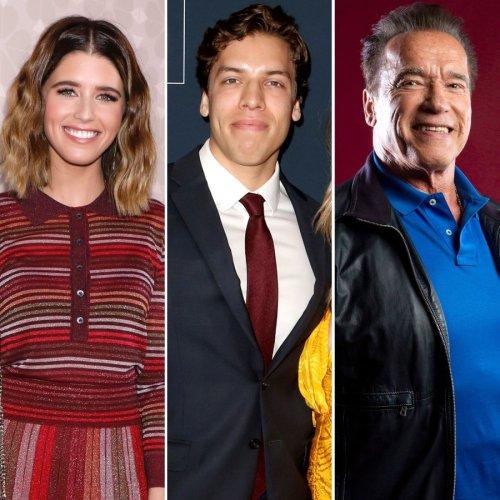 Katherine Schwarzenegger, Joseph Baena Wish Dad Arnold Happy Birthday