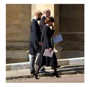 Why Prince Harry, William and Kate Chose to Leave Philip's Funeral Together