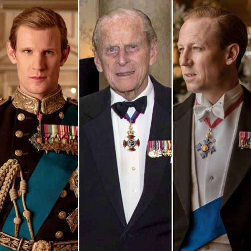 The Crown's Matt Smith and Tobias Menzies React to Prince Philip's Death