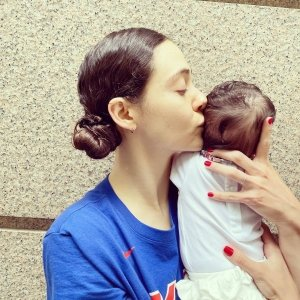Baby's 1st Instagram! Emmy Rossum Shares 1st Photo of Her Daughter
