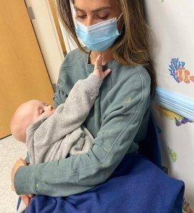 Scary! Hilaria Baldwin Takes Son Eduardo To ER After Allergic Reaction