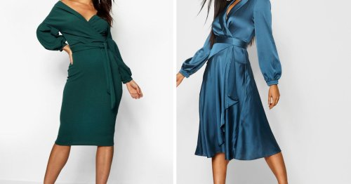 5 Dreamy Date Night Dresses for Fall From Boohoo