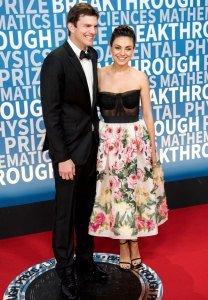 LOL! Mila Kunis Reveals How Often She and Ashton Kutcher Bathe Their 2 Kids